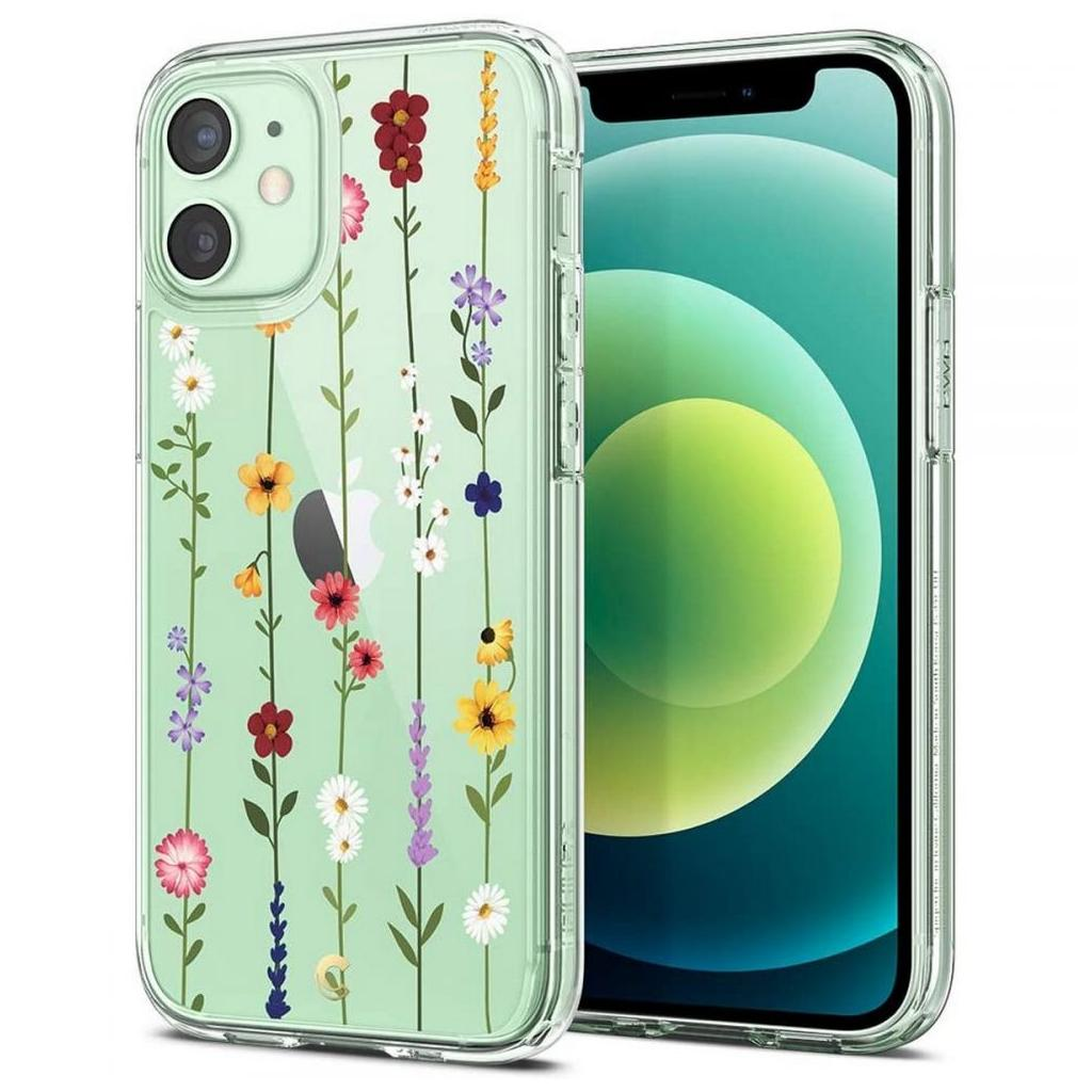 Spigen® Cyrill Cecile Collection ACS01779 iPhone 12 Mini Case - Flower Garden
