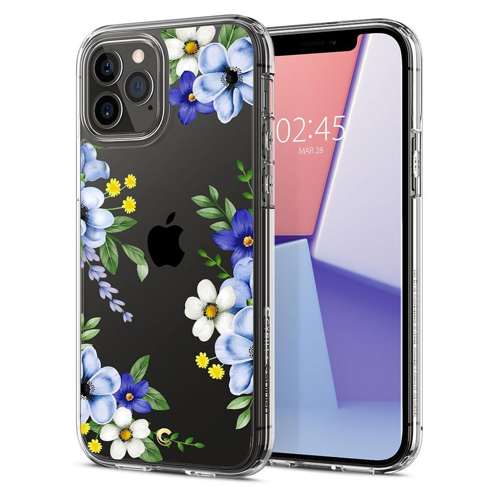 Spigen® Cyrill Cecile Collection ACS01829 iPhone 12 / 12 Pro Case - Midnight Bloom