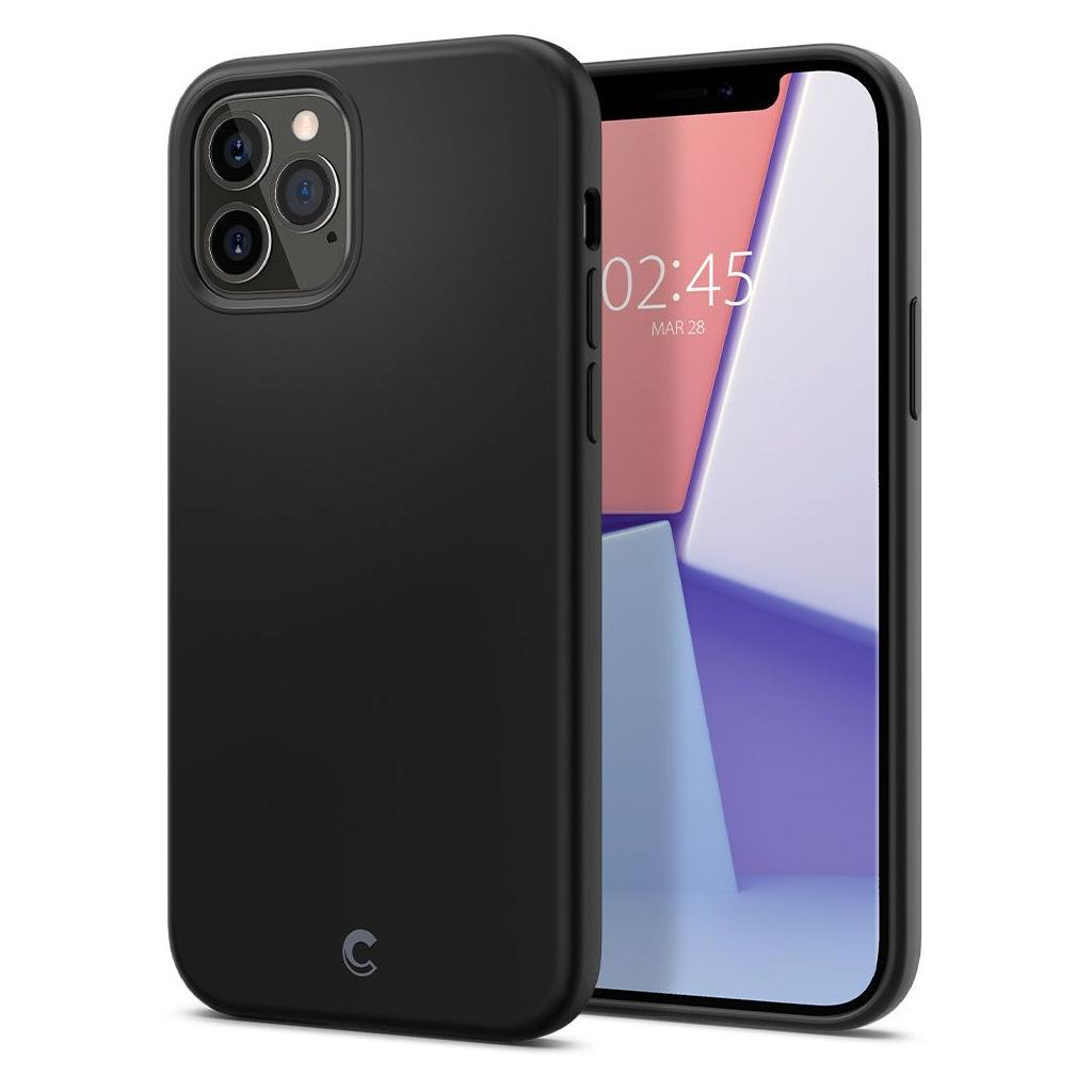 Spigen® Cyrill Silicone Collection ACS01736 iPhone 12 / 12 Pro Case - Black