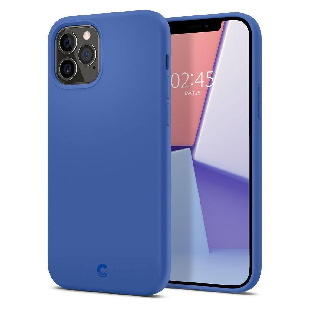 Spigen® Cyrill Silicone Collection ACS01738 iPhone 12 / 12 Pro Case - Navy