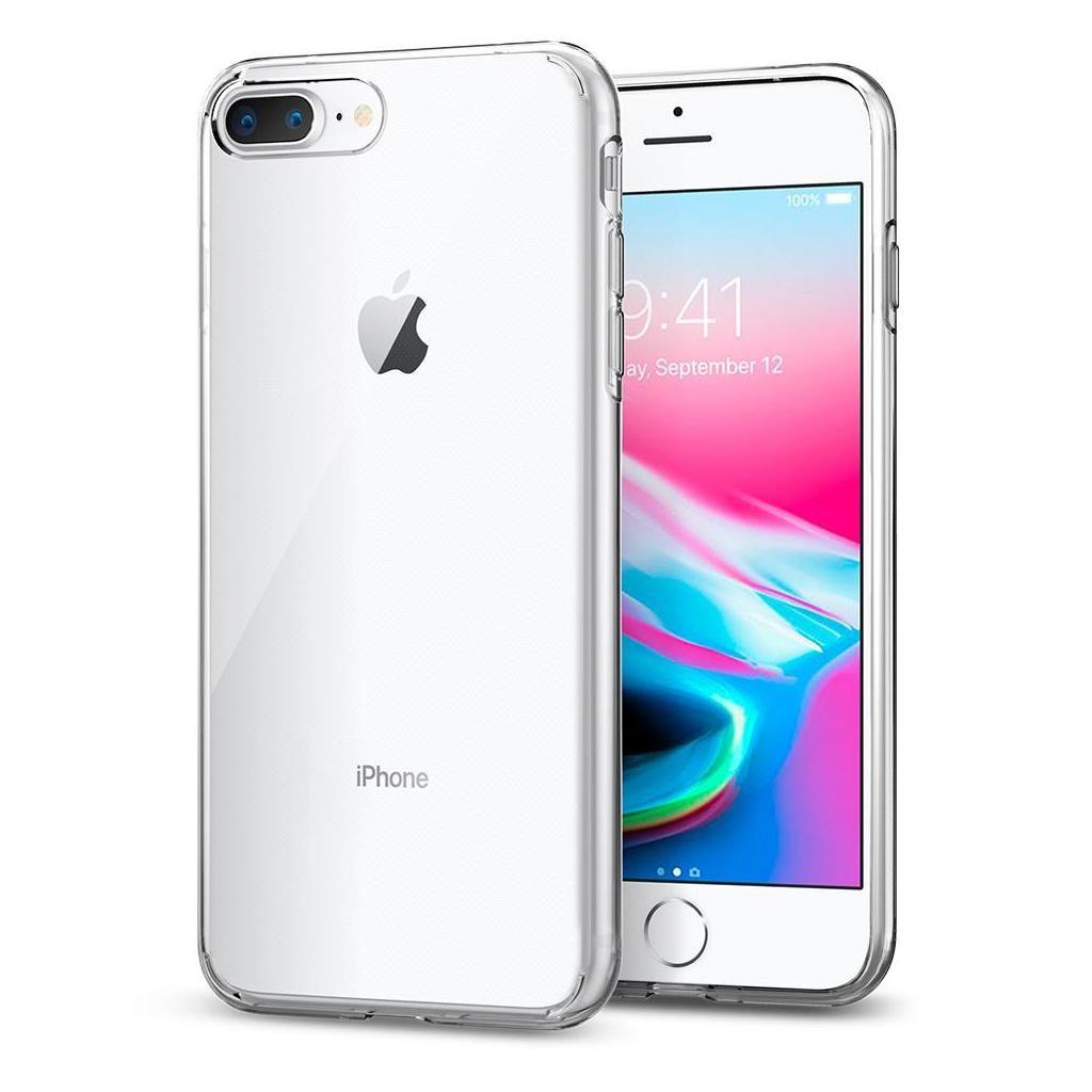 Spigen® Liquid Crystal™ 055CS22233 iPhone 8 Plus / 7 Plus Case - Crystal Clear
