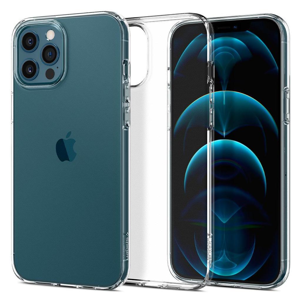 Spigen® Liquid Crystal™ ACS01613 iPhone 12 Pro Max Case - Crystal Clear