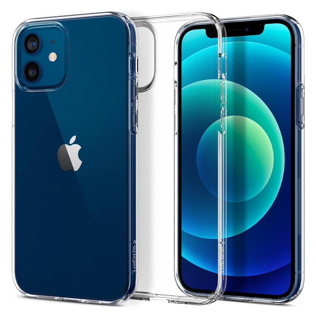 Spigen® Liquid Crystal™ ACS01697 iPhone 12 / 12 Pro Case - Crystal Clear