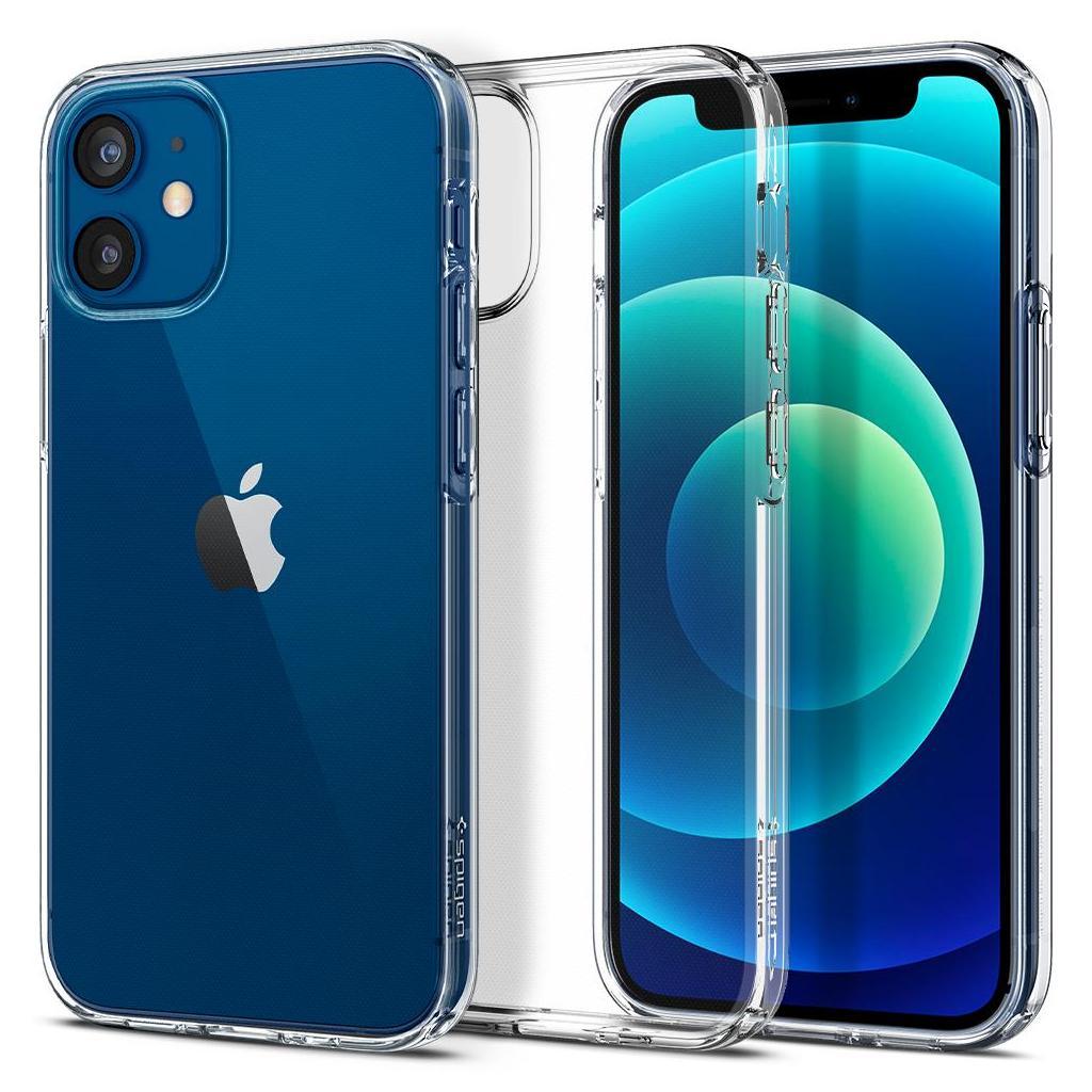 Spigen® Liquid Crystal™ ACS01740 iPhone 12 Mini Case - Crystal Clear