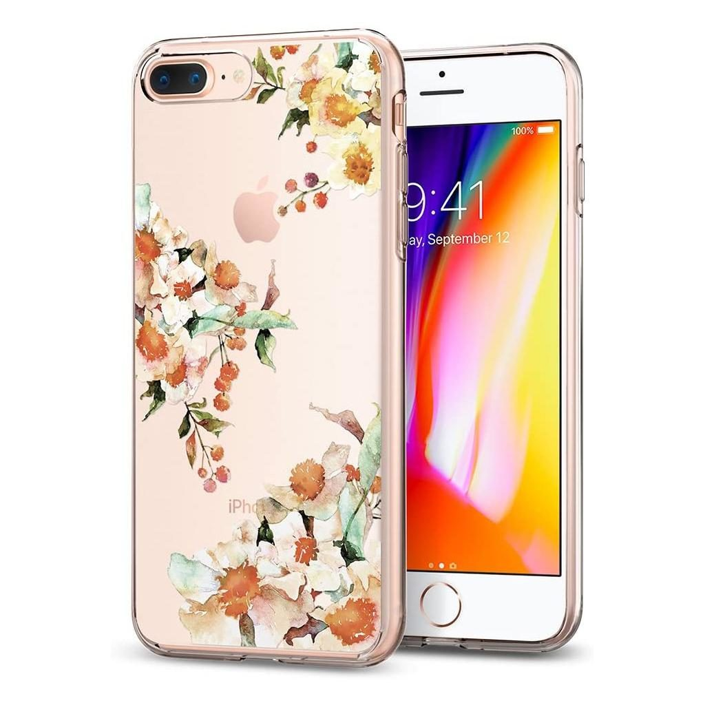 Spigen® Liquid Crystal™ Aquarelle 055CS22784 iPhone 8 Plus / 7 Plus Case – Primrose