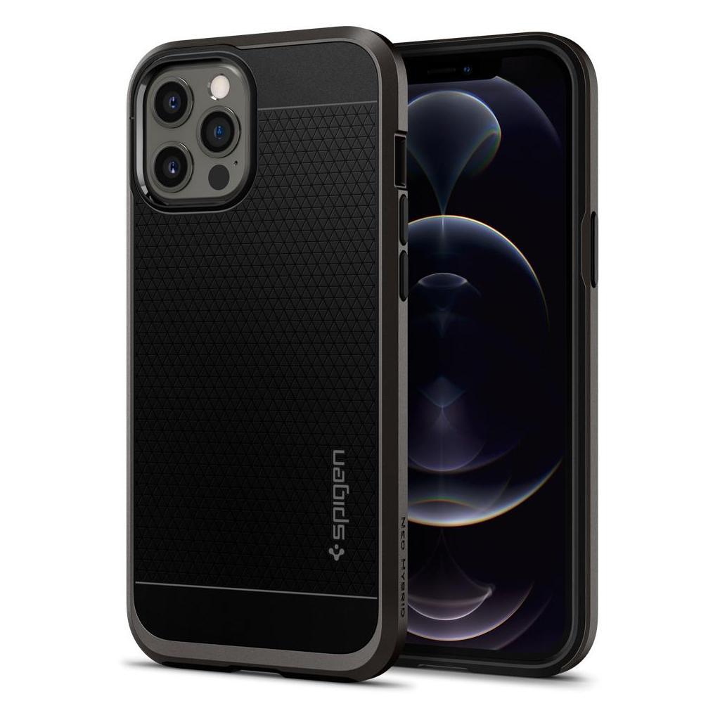 Spigen® Neo Hybrid™ ACS01627 iPhone 12 Pro Max Case - Gunmetal