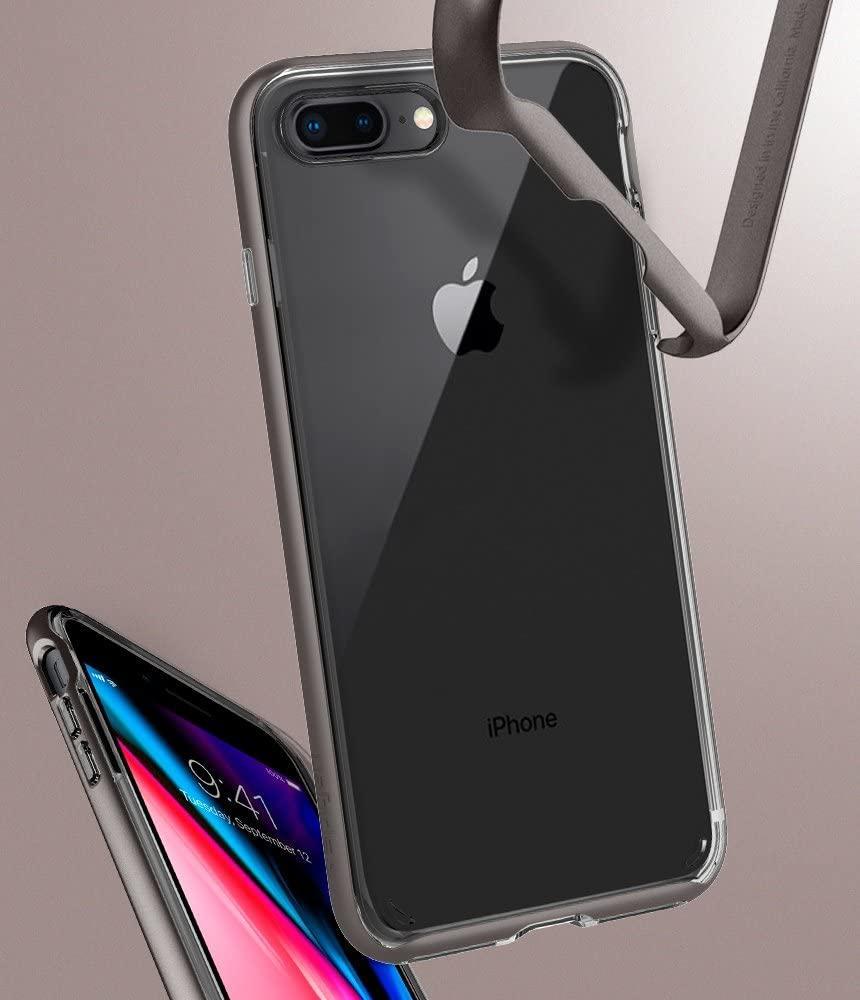Spigen® Neo Hybrid™ Crystal 2 055CS22368 iPhone 8 Plus / 7 Plus Case – Gunmetal