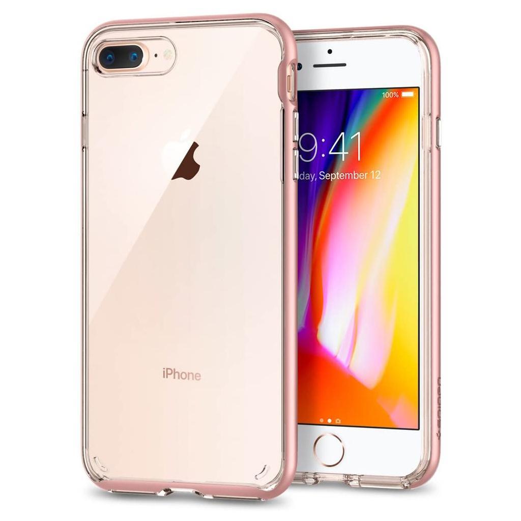 Spigen® Neo Hybrid™ Crystal 2 055CS22369 iPhone 8 Plus / 7 Plus Case - Rose Gold