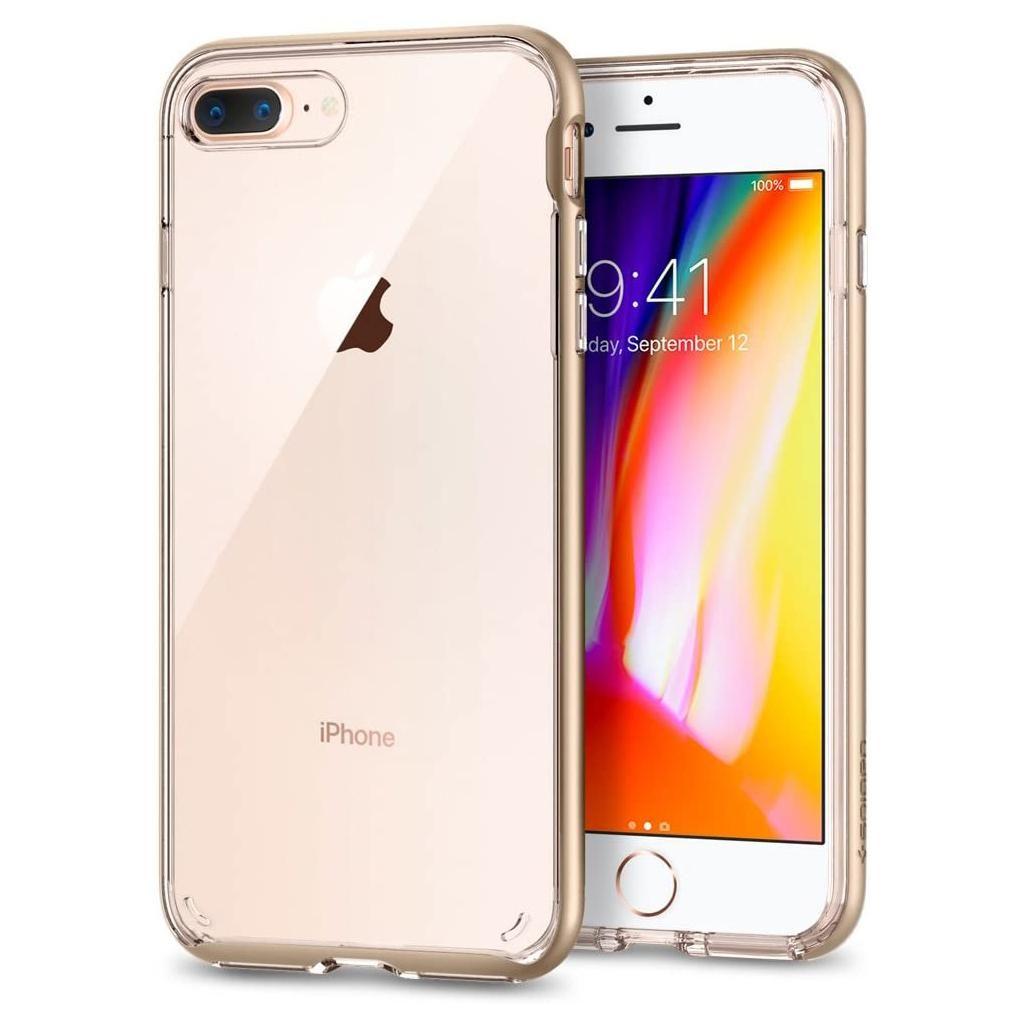 Spigen® Neo Hybrid™ Crystal 2 055CS22371 iPhone 8 Plus / 7 Plus Case – Champagne Gold