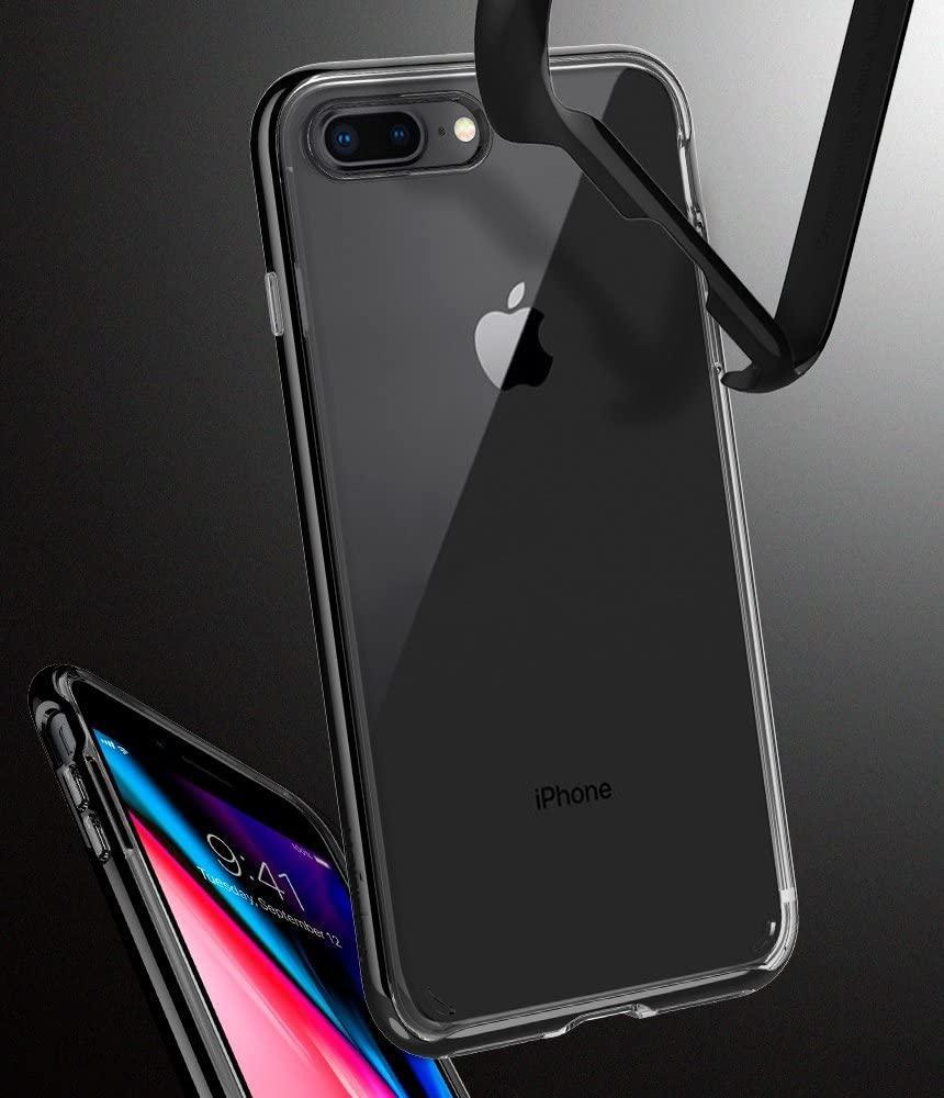 Spigen® Neo Hybrid™ Crystal 2 055CS22372 iPhone 8 Plus / 7 Plus Case - Jet Black