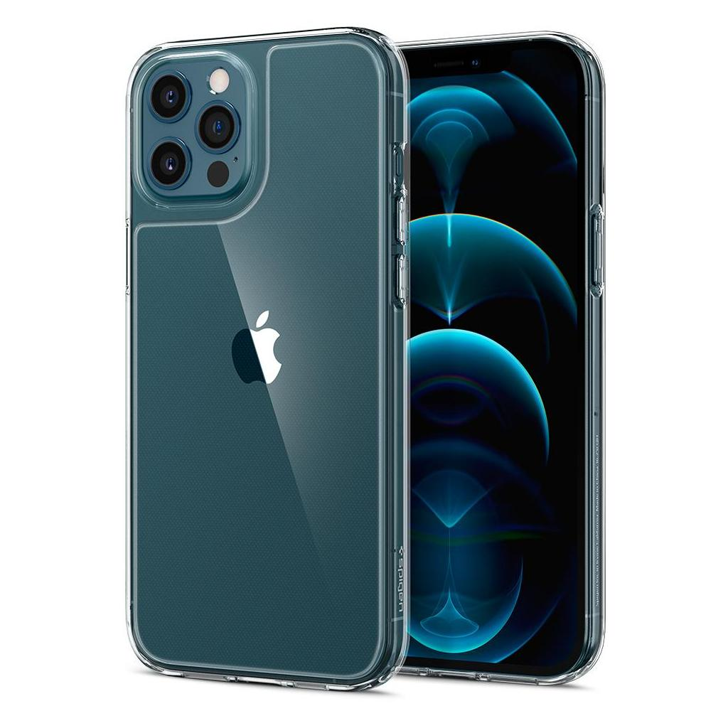 Spigen® Quartz Hybrid™ ACS01621 iPhone 12 Pro Max Case - Crystal Clear