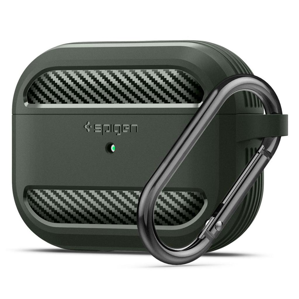 Spigen® Rugged Armor™ ASD01441 Apple Airpods Pro Case - Military Green