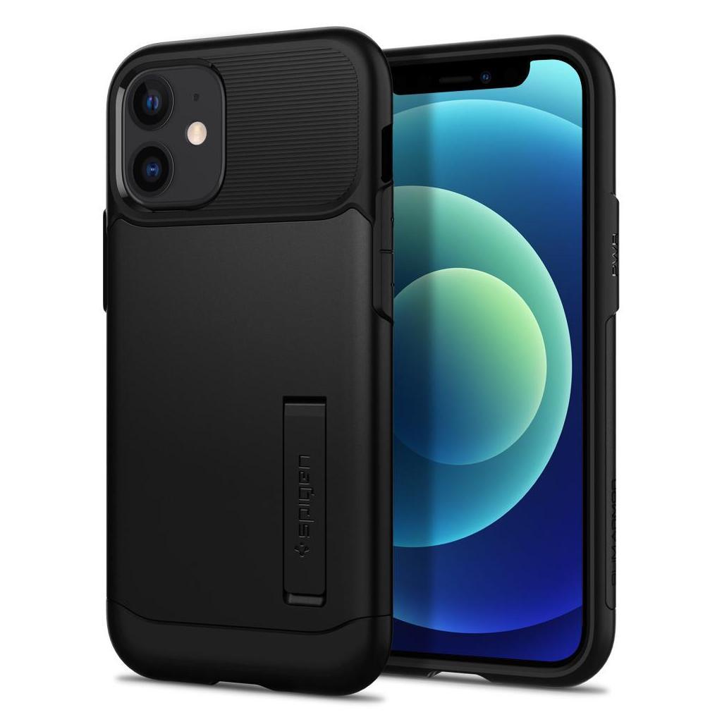 Spigen® Slim Armor™ ACS01545 iPhone 12 Mini Case - Black