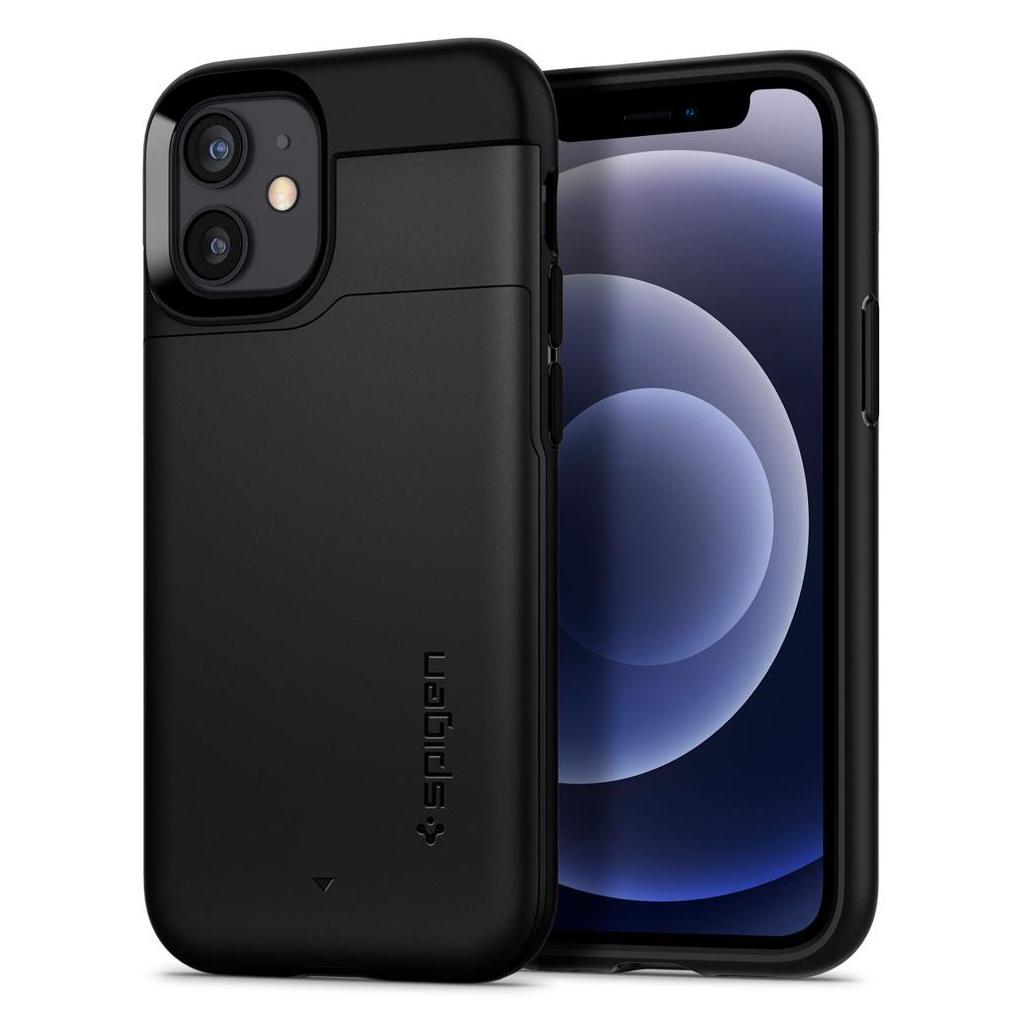 Spigen® Slim Armor™ CS ACS01750 iPhone 12 Mini Case - Black