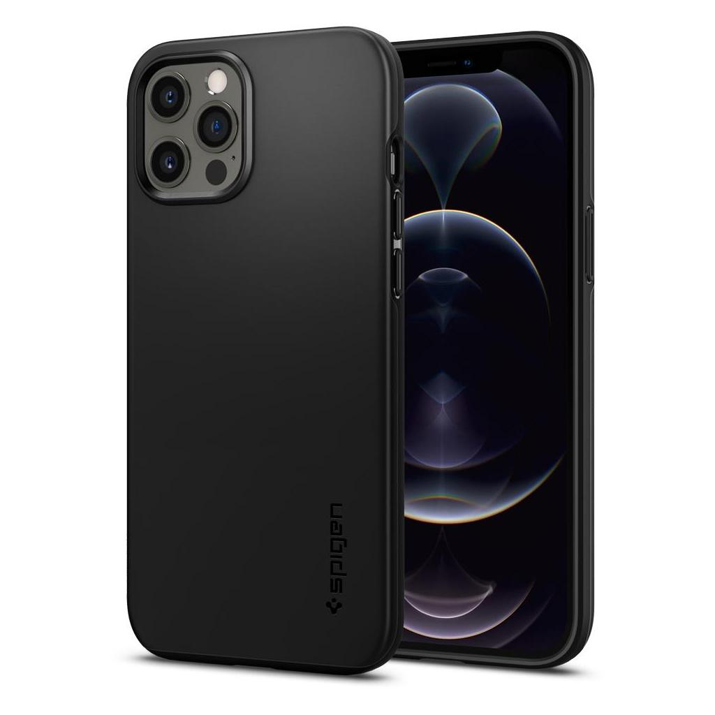 Spigen® Thin Fit™ ACS01612 iPhone 12 Pro Max Case - Black