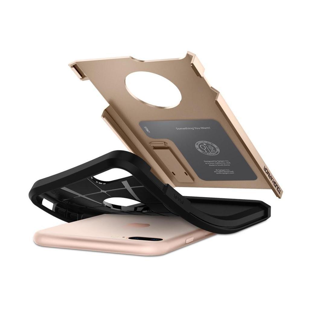 Spigen® Tough Armor™ 2 055CS22248 iPhone 8 Plus / 7 Plus Case - Champagne Gold