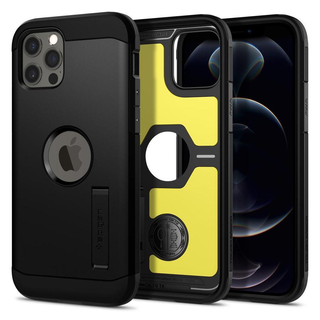Spigen® Tough Armor™ ACS01710 iPhone 12 / 12 Pro Case - Black