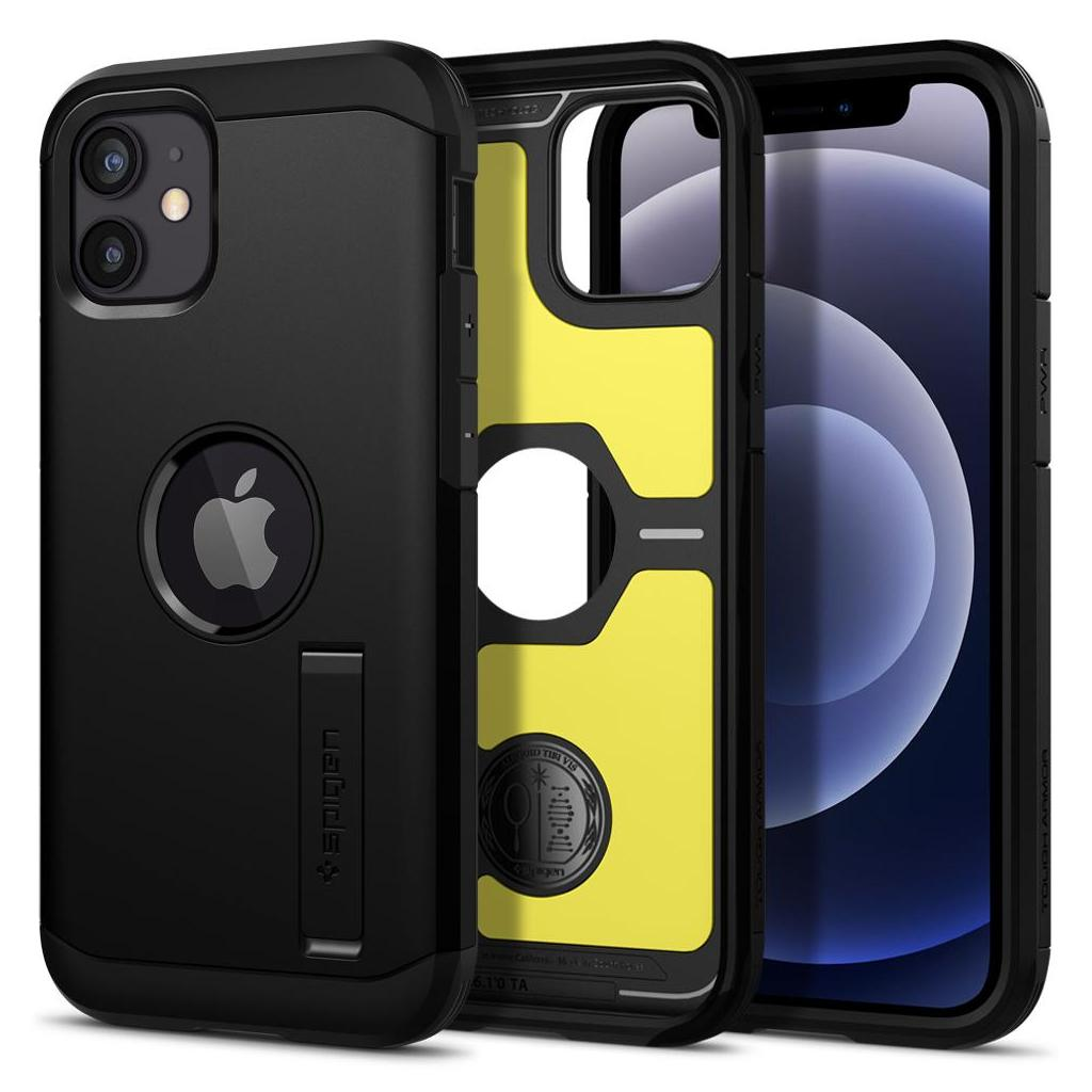 Spigen® Tough Armor™ ACS01753 iPhone 12 Mini Case - Black