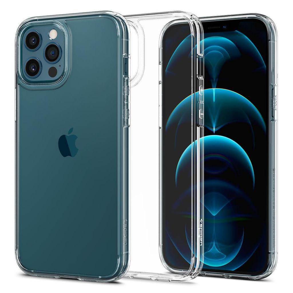 Spigen® Ultra Hybrid™ ACS01618 iPhone 12 Pro Max Case - Crystal Clear