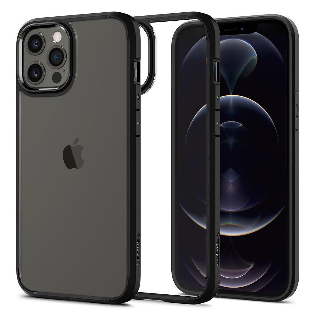 Spigen® Ultra Hybrid™ ACS01619 iPhone 12 Pro Max Case - Matte Black