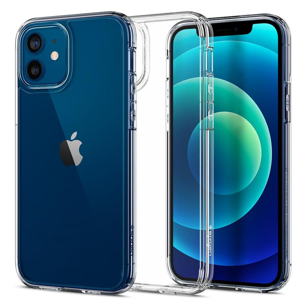 Spigen® Ultra Hybrid™ ACS01702 iPhone 12 / 12 Pro Case - Crystal Clear