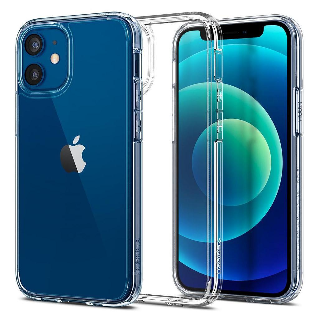 Spigen® Ultra Hybrid™ ACS01745 iPhone 12 Mini Case - Crystal Clear