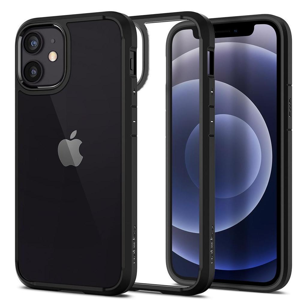 Spigen® Ultra Hybrid™ ACS01746 iPhone 12 Mini Case - Matte Black