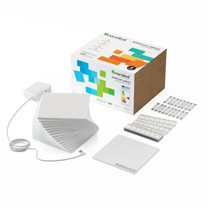 Nanoleaf Canvas Smarter Kit – 17 Panels
