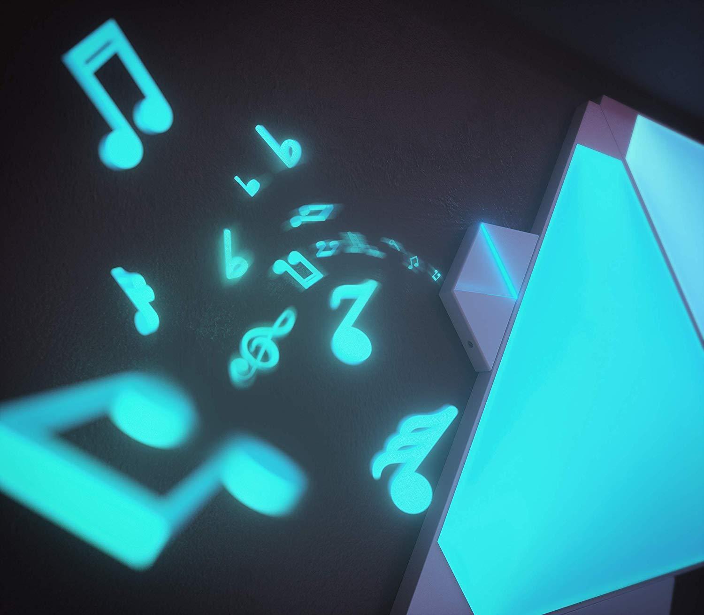 Nanoleaf Light Panels   Rhythm Edition Smarter Kit – 15 Panels
