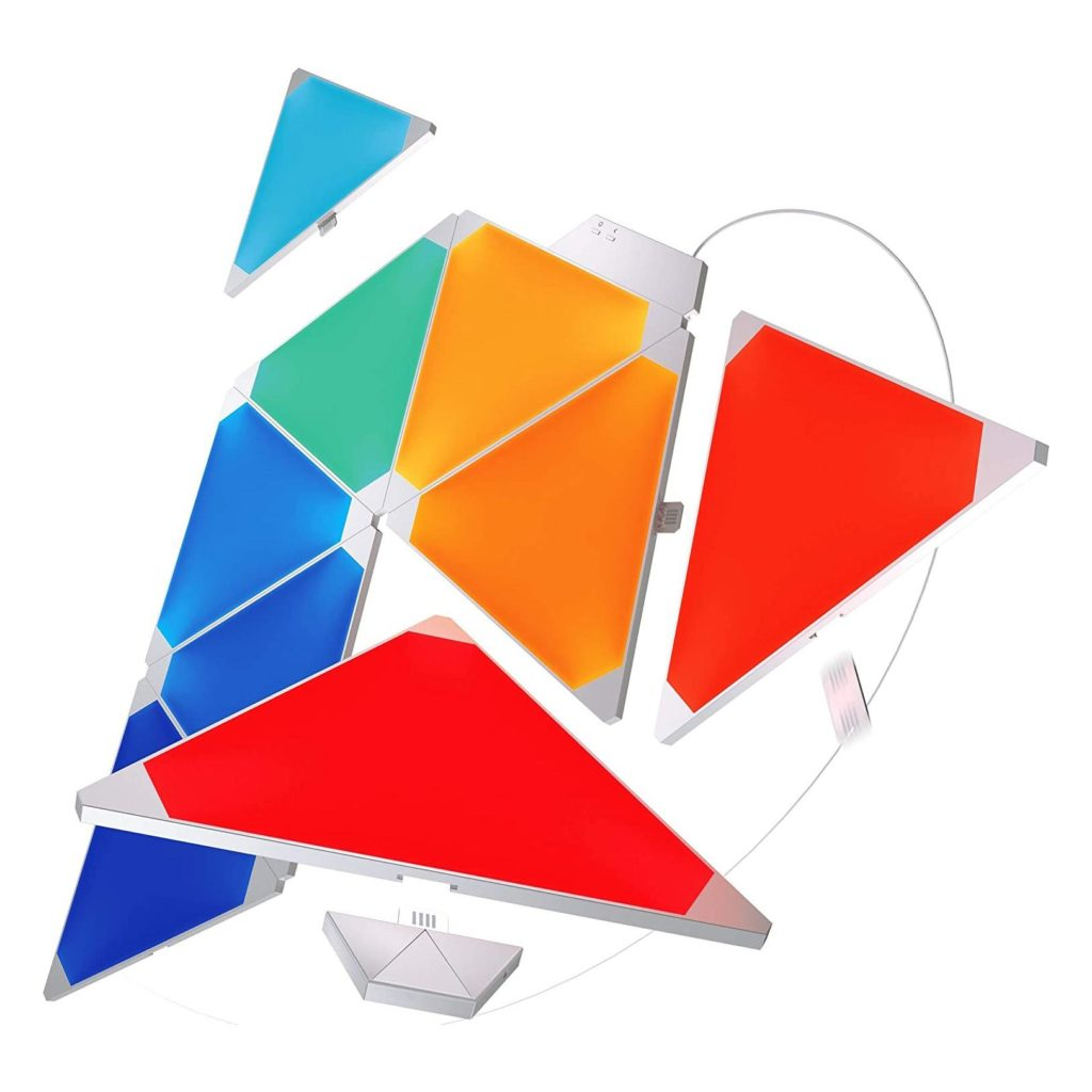 Nanoleaf Light Panels | Rhythm Edition Smarter Kit – 9 Panels
