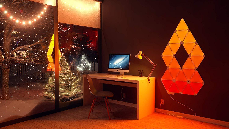 Nanoleaf Light Panels | Rhythm Edition Smarter Kit – 9 Panels