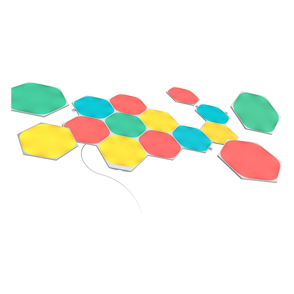Nanoleaf Shapes Hexagons Smarter Kit – 15 Panels
