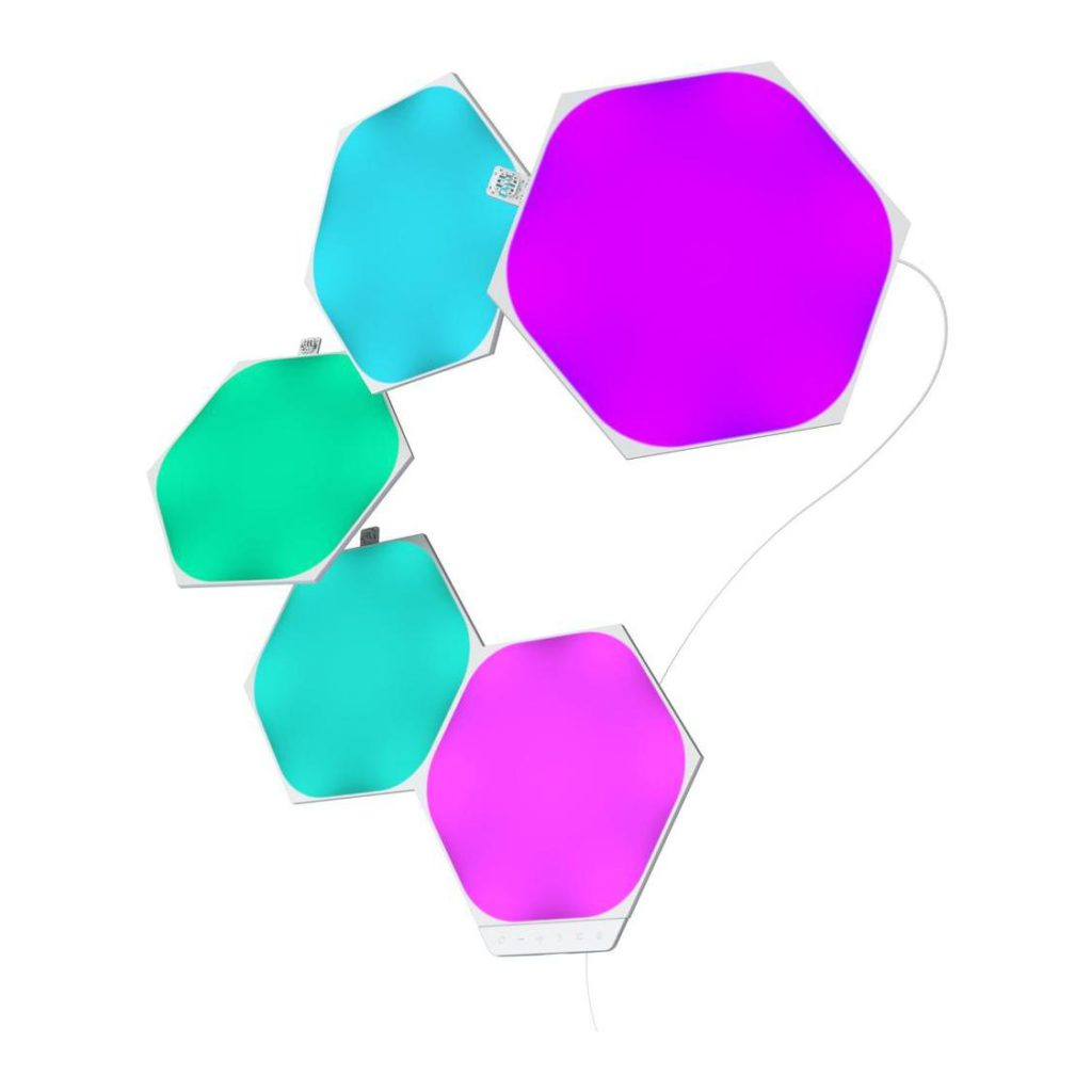 Nanoleaf Shapes Hexagons Smarter Kit – 5 Panels