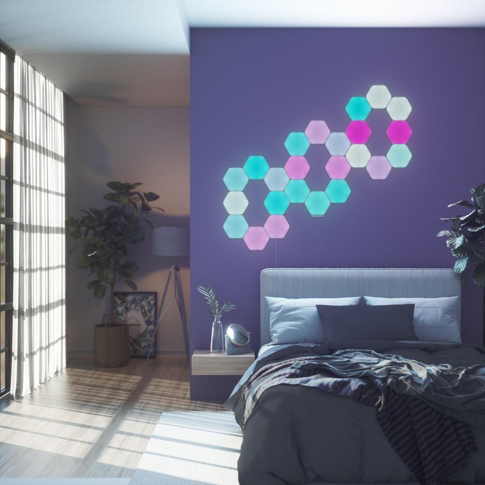 Nanoleaf Shapes Hexagons Smarter Kit - 9 Panels