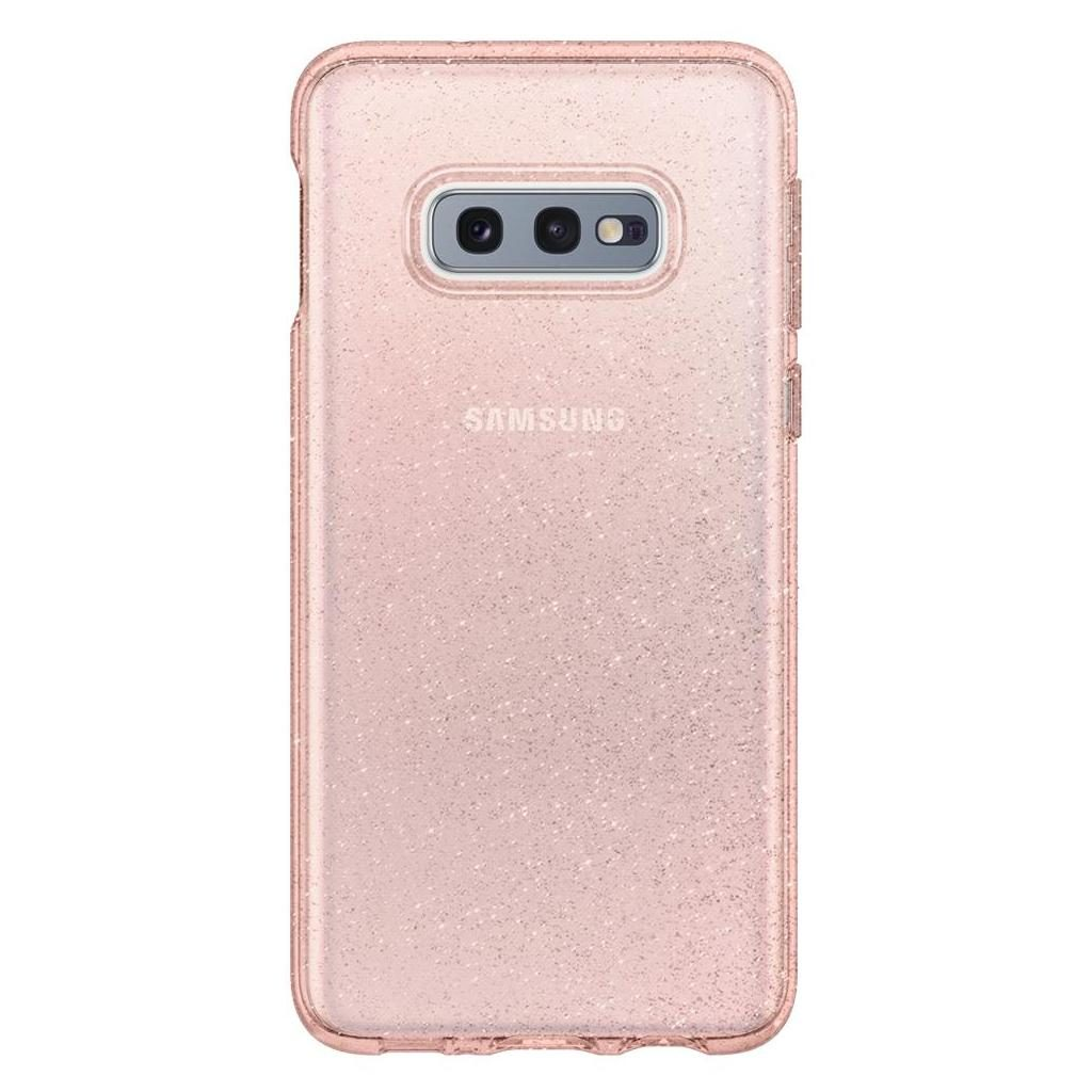 Spigen® Liquid Crystal™ Glitter 609CS25835 Samsung Galaxy S10e Case - Rose Quartz