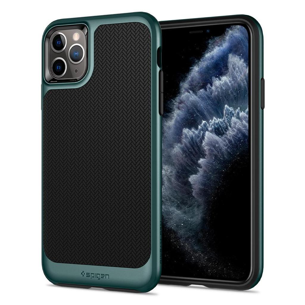 Spigen® Neo Hybrid™ ACS00421 iPhone 11 Pro Case - Midnight Green