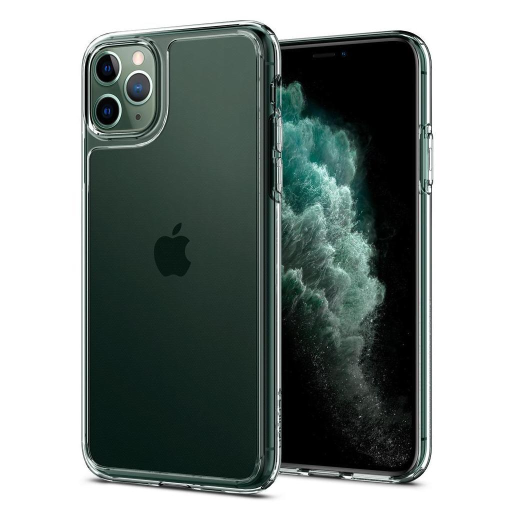 Spigen® Quartz Hybrid™ 077CS27237 iPhone 11 Pro Case - Crystal Clear