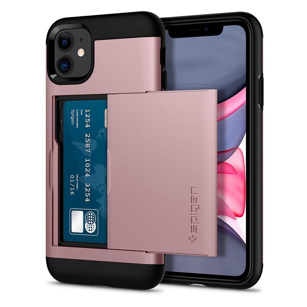 Spigen® Slim Armor CS™ 076CS27437 iPhone 11 Case - Rose Gold