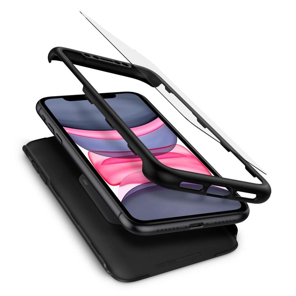 Spigen® Thin Fit 360™ 076CS27071 iPhone 11 Case - Black