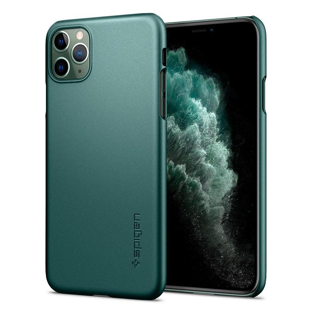 Spigen® Thin Fit™ ACS00416 iPhone 11 Pro Case - Midnight Green