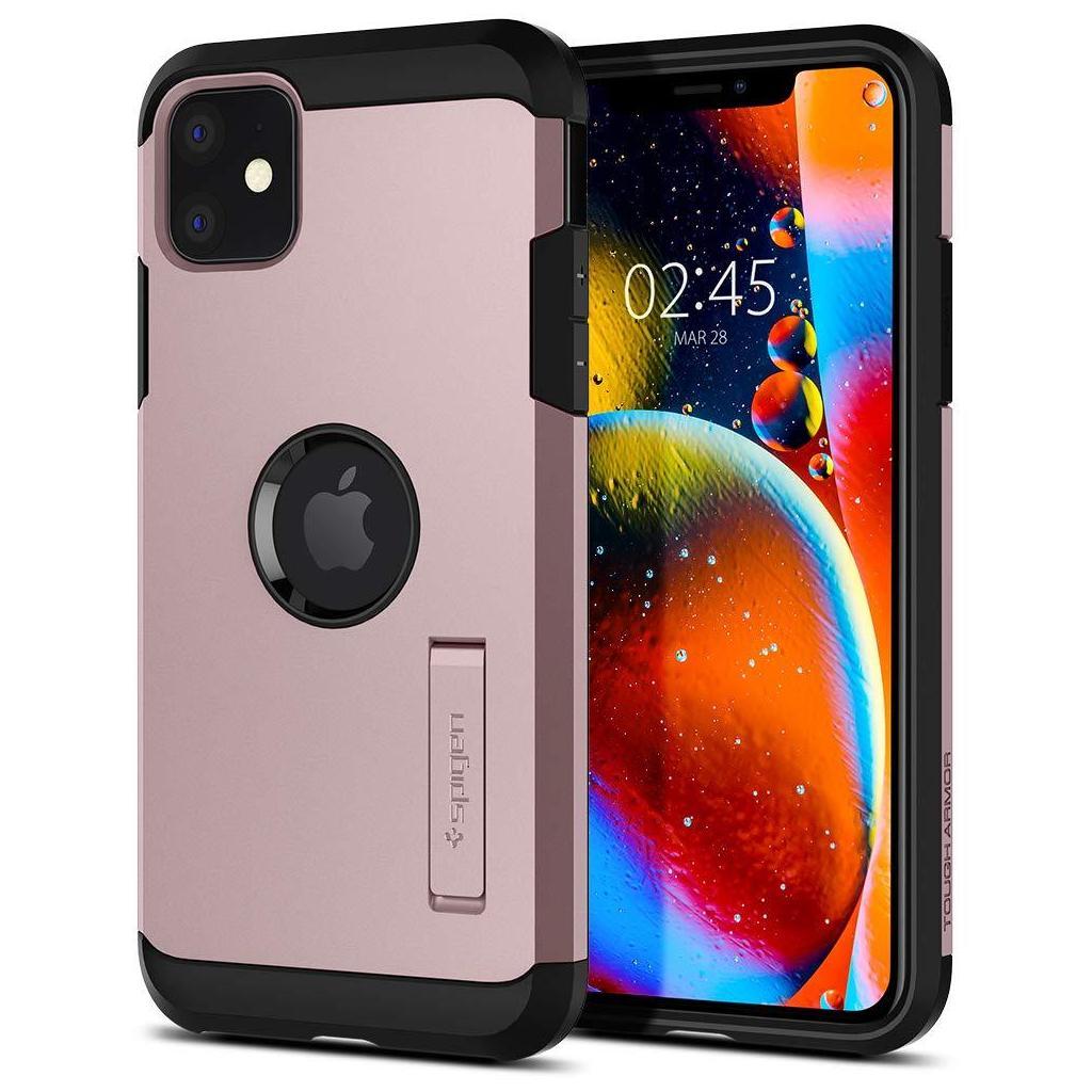 Spigen® Tough Armor™ 076CS27192 iPhone 11 Case - Rose Gold