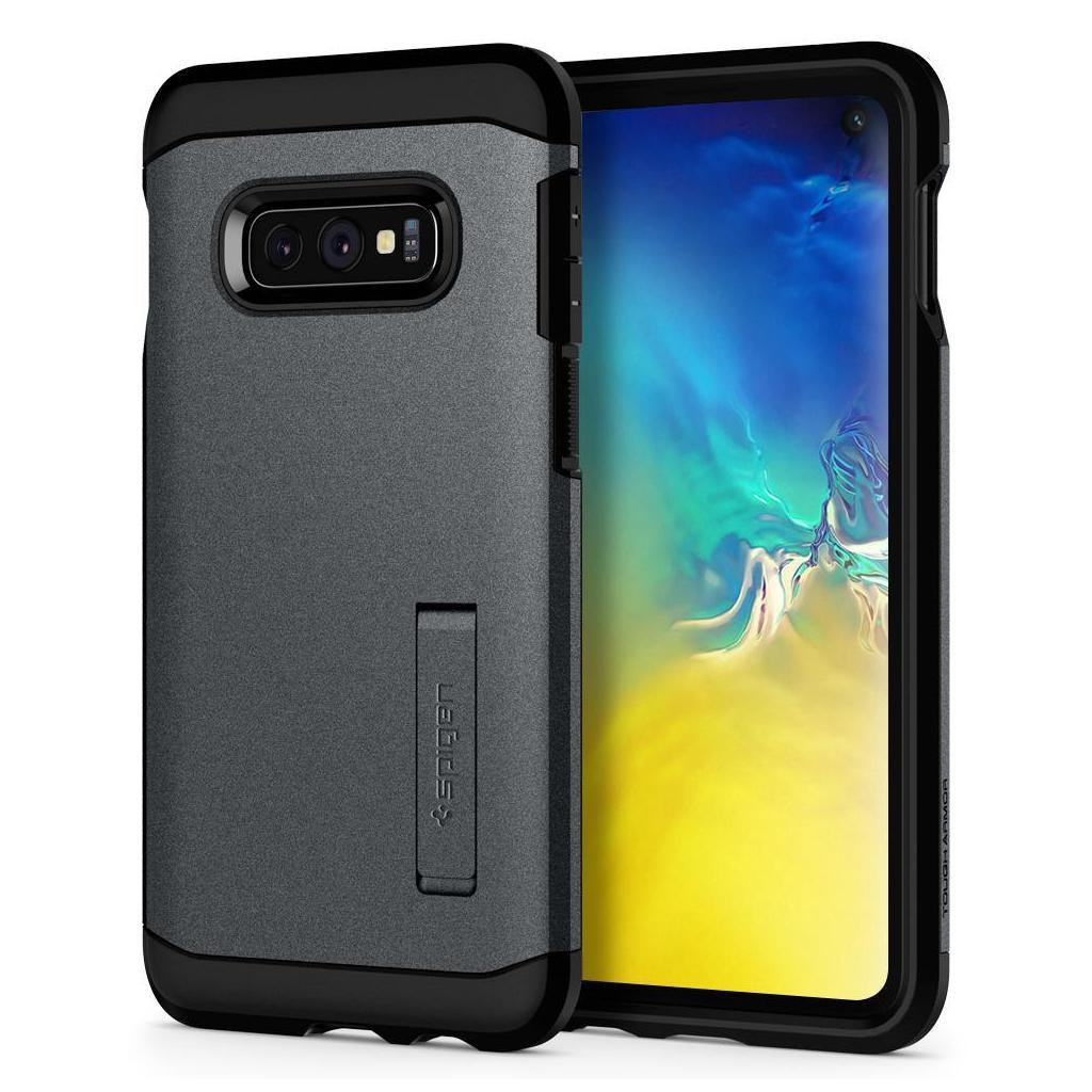 Spigen® Tough Armor™ 609CS25843 Samsung Galaxy S10e Case – Graphite Gray