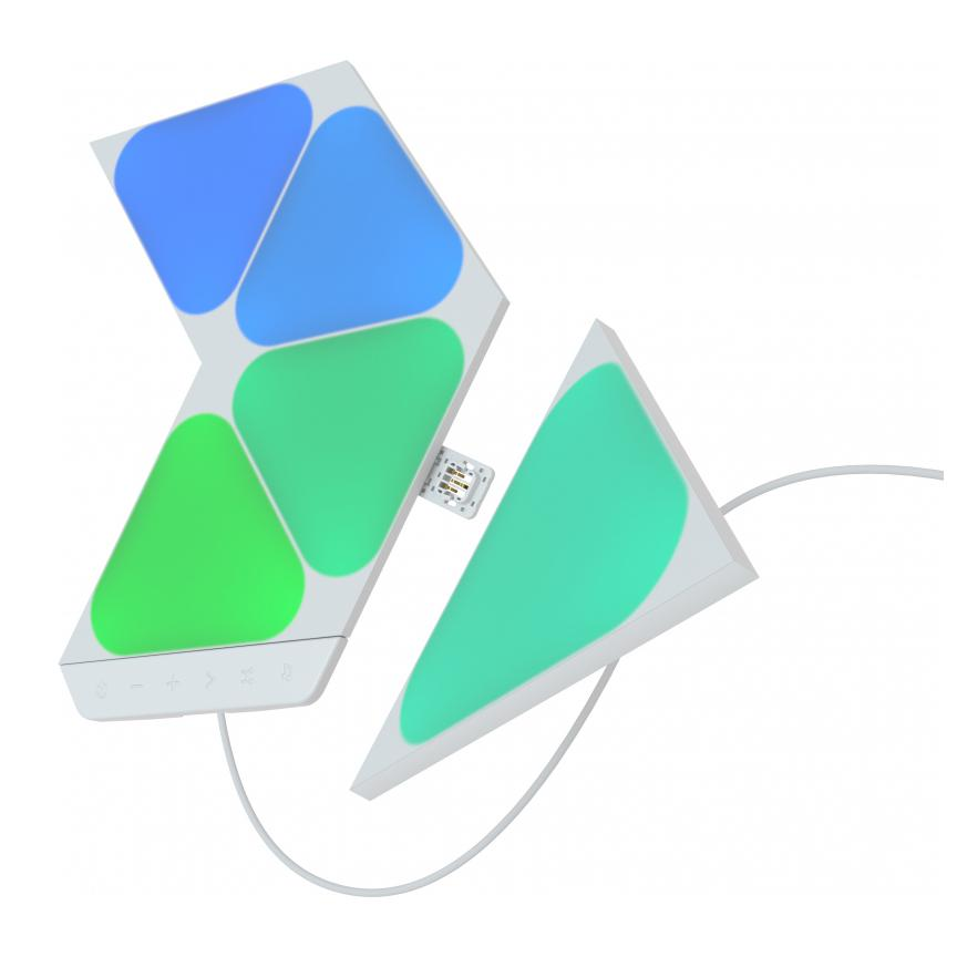 Nanoleaf Shapes Mini Triangles Smarter Complete Kit – 5 Panels