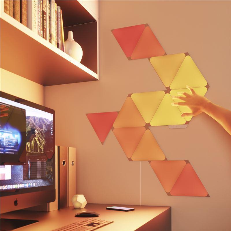 Nanoleaf Shapes Triangles Smarter Complete Kit – 4 Panels