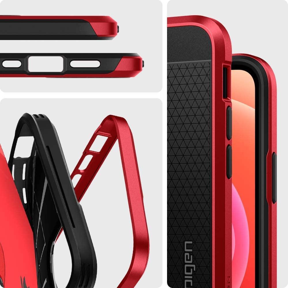 Spigen® Neo Hybrid™ ACS02260 iPhone 12 Mini Case - Red