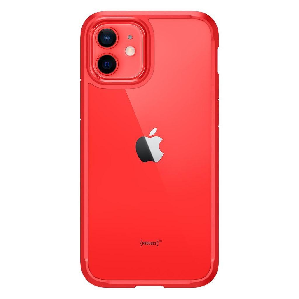Spigen® Ultra Hybrid™ ACS01704 iPhone 12 / 12 Pro Case - Red