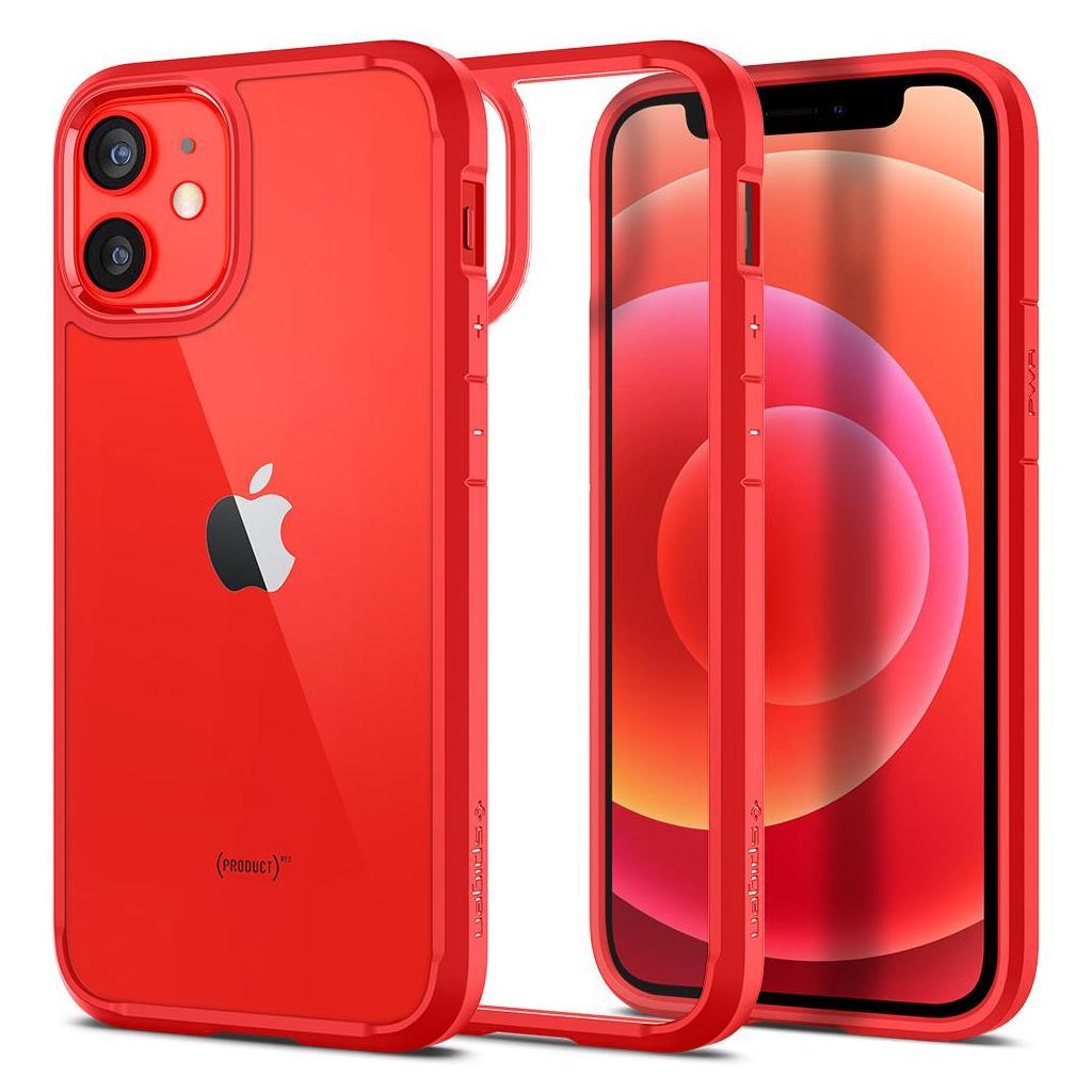 Spigen® Ultra Hybrid™ ACS01747 iPhone 12 Mini Case - Red