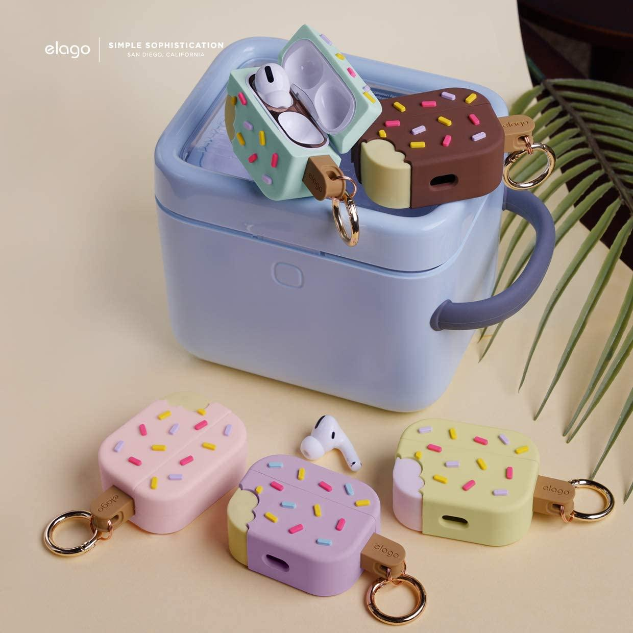 Elago® Ice Cream EAPP-ICE-LV Apple AirPods Pro Case – Blueberry