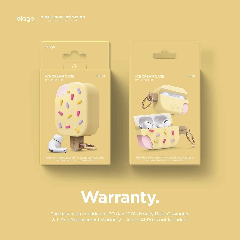 Elago® Ice Cream EAPP-ICE-YE Apple AirPods Pro Case – Vanilla