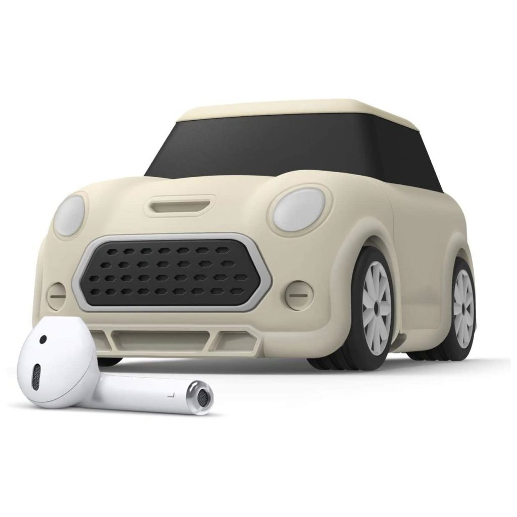 Elago® Mini Car EAP-MINICAR-CWH Apple AirPods Case – Classic White